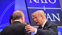 Trump inicia cumbre de la OTAN con una incómoda