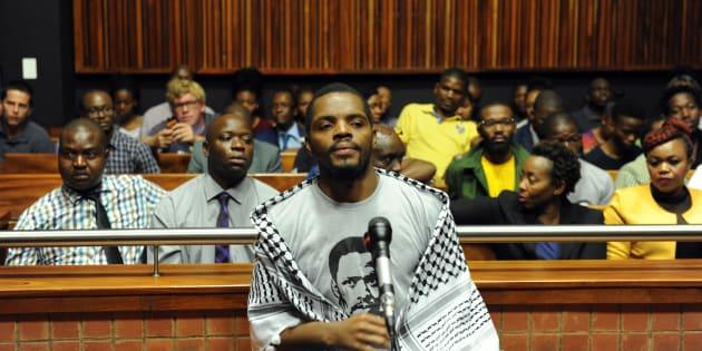 Student activist and former Wits University SRC president Mcebo Dlamini