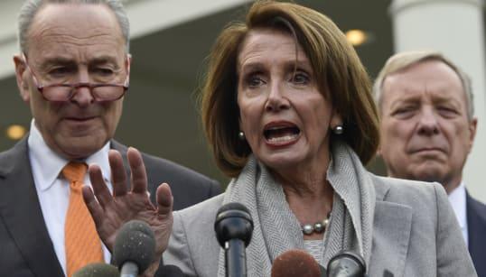 Virulente attaque de Trump contre la chef des démocrates au