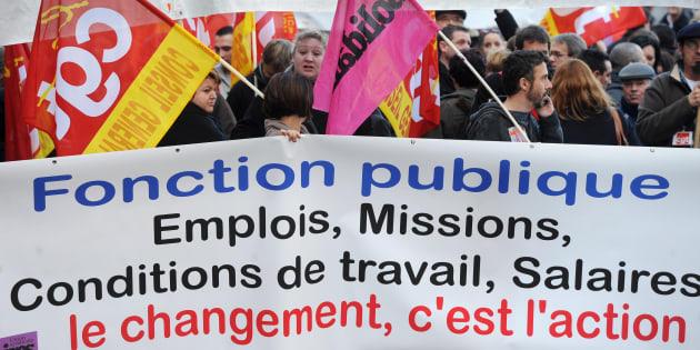 Les fonctionnaires appelés à la grève par tous les syndicats le 10 septembre.