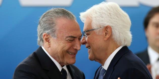 Posse de Moreira Franco como ministro da Secretaria-Geral da Presidência