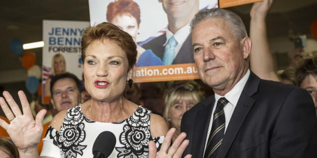 Pauline Hanson and One Nation had a disappointing weekend.
