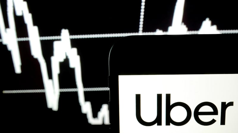 Uber revenue falls short of projections, and its stock drops with it