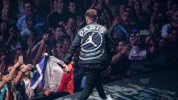Justin Timberlake dévoile une veste de la nouvelle collaboration PSG x Air