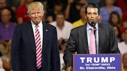 Donald Trump Says His Son Is An 'Innocent' Victim Of 'Witch