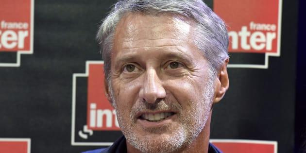 Antoine de Caunes, en août dernier, dans les locaux de la Maison de la Radio.