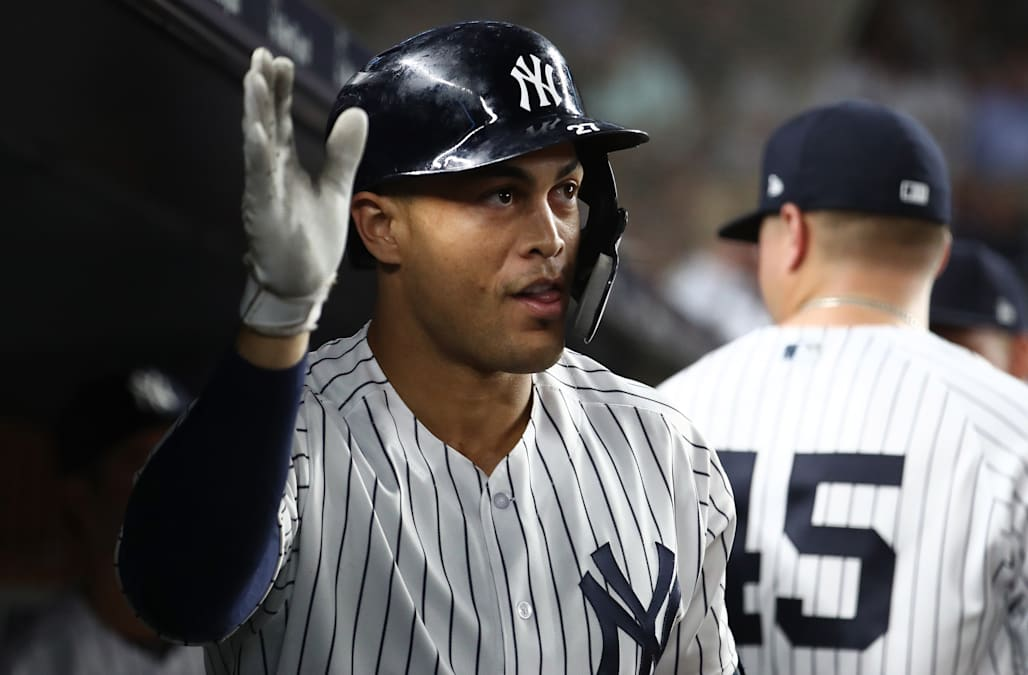 6c9a7b224 Giancarlo Stanton once again hits hardest-hit home run in MLB history