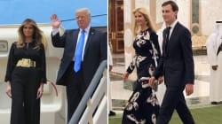 Melania et Ivanka Trump sans voile en Arabie saoudite... comme Michelle Obama que Trump jugeait