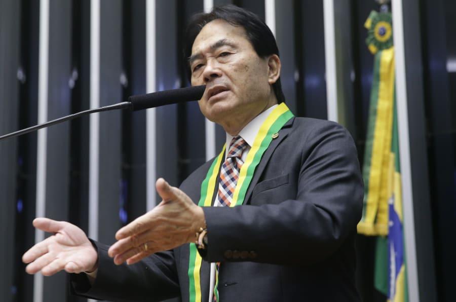 Deputado Hidekazu Takayama (PSC-PR) preside a bancada evangélica da Câmara dos Deputados desde abril de 2017.