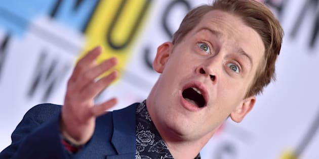 Macaulay Culkin en los American Music Awards