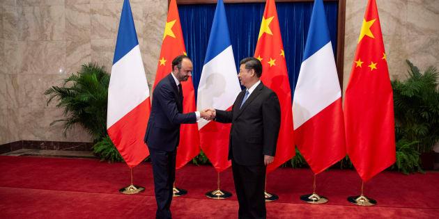 """En Chine, Edouard Philippe salue les """"partenariats stratégiques"""" noués avec la France"""