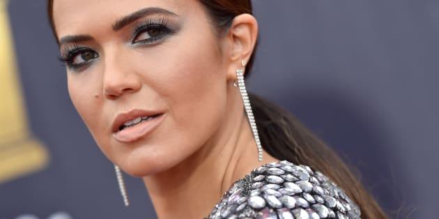 L'actrice et chanteuse Mandy Moore à la cérémonie MTV Movie et TV Awards le 16 juin 2019 à Santa Monica, Californie.