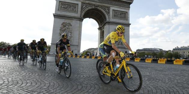 La dernière étape du Tour de France 2016 à Paris le 24 juillet.