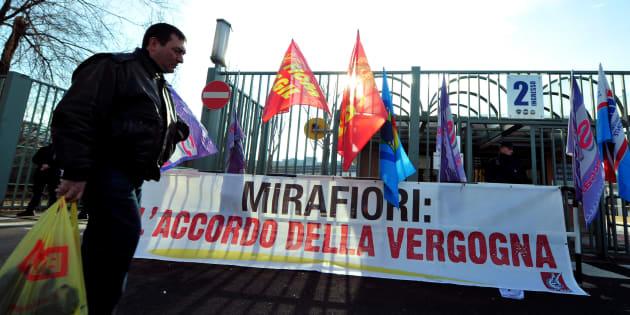 """Gli operai di Mirafiori: """"Marchionne ha fatto molto per"""