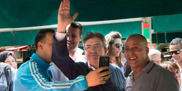Jean-Luc Mélenchon arrive en tête à Marseille, selon un sondage