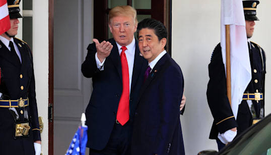 Japan's PM Nominated Trump For Nobel Prize At Washington's Urging:
