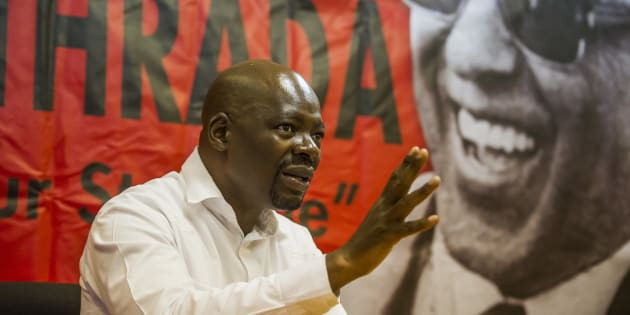 South African Communist Party first deputy secretary general Solly Mapaila addresses the media regarding the calls for President Jacob Zuma to step down on April 05, 2017 in Pretoria, South Africa. Mapaila reiterated SACP's position that they want Zuma to resign.