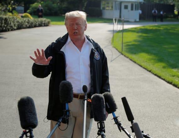 Trump casts doubt on Kavanaugh accuser