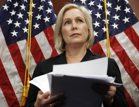 Sen. Kirsten Gillibrand announces White House bid