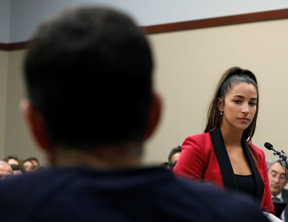 Aly Raisman addresses Larry Nassar in court