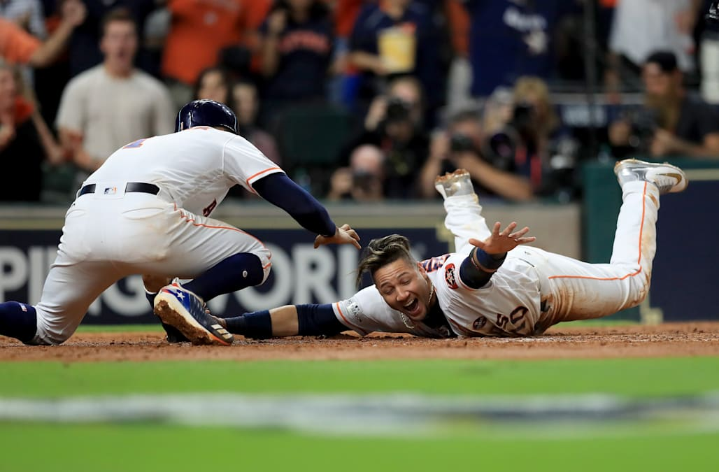 Astros advance to second-ever World Series after defeating Yankees in ALCS Game 7