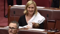 Daughter Of Greens Senator Becomes First Breastfed Baby In Parliament