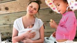 Chrissy Teigen alerte sur un problème que connaissent bien les mères qui
