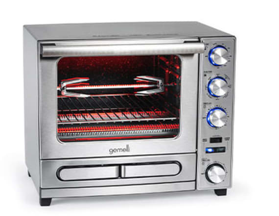 This convection oven is perfect for holiday cooking