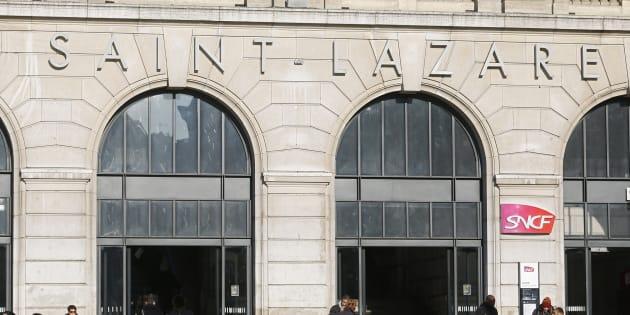 La gare Saint-Lazare touchée par une panne d'électricité, la circulation des trains perturbée