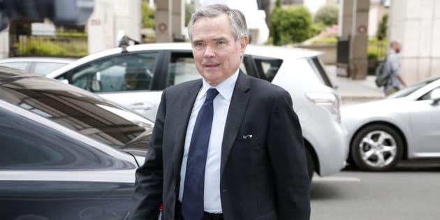Bernard Accoyer à Paris le 9 juin 2015.