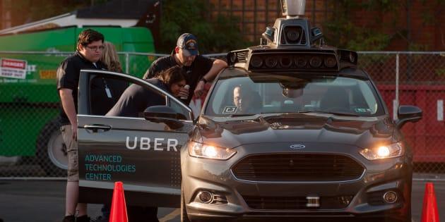 Uber reprend très prudemment ses essais de voiture autonome... en mode manuel
