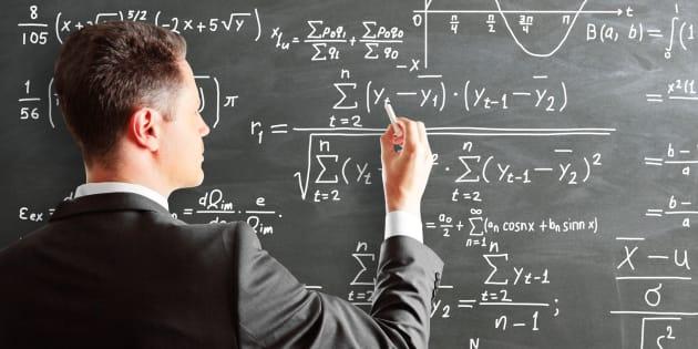 数学者のイメージ写真