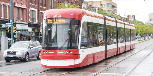La société de transport en commun de Toronto avait commandé 204 tramways à Bombardier.