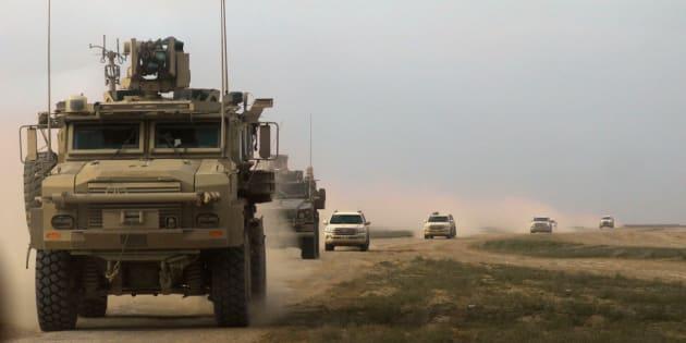 200 soldats américains resteront en Syrie après le retrait des troupes.