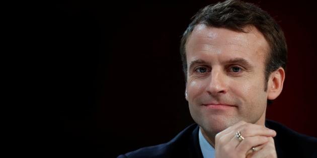 Avec l'émergence d'Emmanuel Macron dans la campagne présidentielle, le grand chambardement est possible. REUTERS/Christian Hartmann