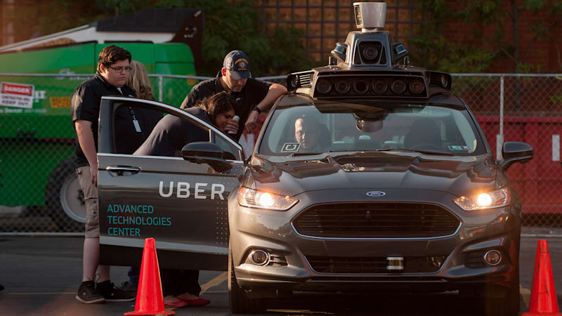 Pittsburgh is falling out of love with Uber's self-driving cars