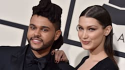 Exes Bella Hadid And The Weeknd Spotted Kissing At