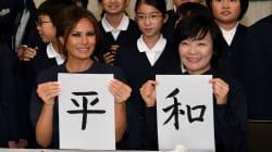 Cette photo de Melania Trump au Japon vaut le