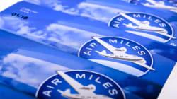 Air Miles relève son plafond quotidien de points à 750 $ pendant les