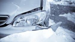 Plusieurs collisions ont forcé la fermeture de l'autoroute 20 pendant quelques heures près de