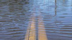 La pluie risque de provoquer la crue de plusieurs