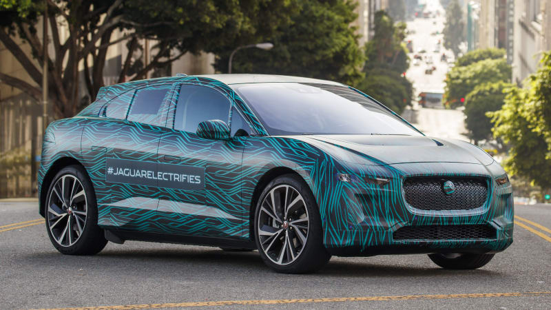 jaguar announces a reveal date for the production i pace electric crossover along with fast. Black Bedroom Furniture Sets. Home Design Ideas