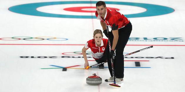Kaitlyn Lawes et John Morris.