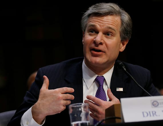 FBI Chief Wray weighs in on McCabe termination