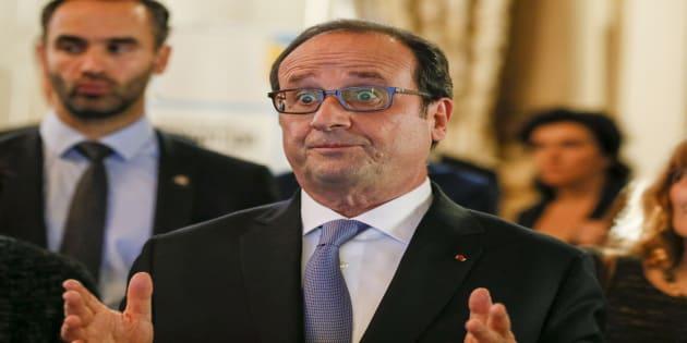 François Hollande à Lyon le 17 novembre 2016