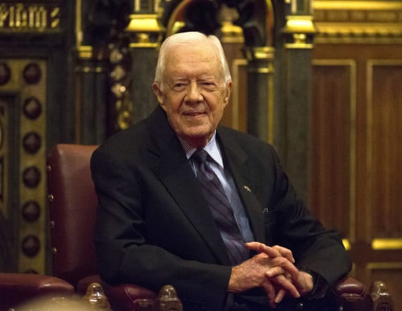 Jimmy Carter reveals he voted for Sanders in primary