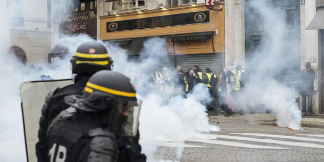 Depuis le début du mouvement des gilets jaunes, la police des polices a ouvert 48 enquêtes pour violences policières (Photo d'illustration prise le 22 décembre 2018 à Paris).