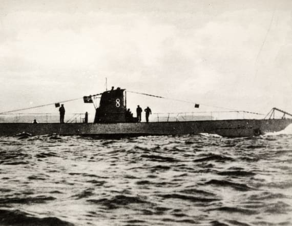 German WWI submarine found with 23 bodies inside