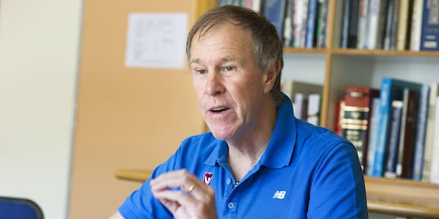 Tim Noakes during an interview about the Noakes eating plan, or Banting diet, in 2015.