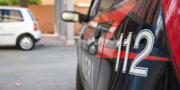 Carabinieri (Italian police force) car. Italy
